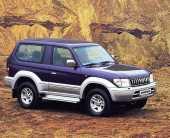 Сдам в аренду посуточно Автомобиль Т-Prado 1998 г. 4WD, автомат, залог 40 000 р. в Петропавловске-Камчатском