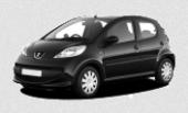 Сдам в аренду посуточно Автомобиль Peugeot 107 АКПП, черный, 5 дверей в Томске