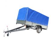 Сдам в аренду посуточно Прицеп легковой САЗ 82993-02 Области применения для перевозки снегоходов и квадроциклов  Грузоподъемность 500 кг в Екатеринбурге