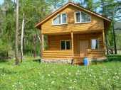 Сдам в аренду посуточно коттедж в Иркутске р-н Прибайкальский национальный парк.8 км.от с. Большое Голоустное