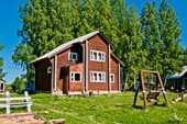 Сдам в аренду посуточно дом в Кирове р-н в 45 км от г.Кирова на высоком берегу р.Вятка
