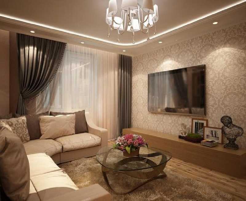 Дизайн гостинных в квартирах