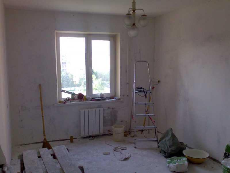 Квартира без отделки ремонт