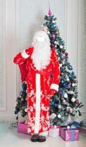 Посуточная аренда Костюм Деда Мороза «Восточные Узоры» в Санкт-Петербурге