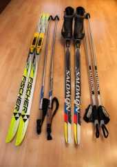 Посуточная аренда Беговые лыжи для классического хода с креплением SNS (комплект) в Самаре