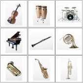 Посуточная аренда Духовые, струнные, клавишные, ударные инструменты в Санкт-Петербурге