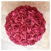 Посуточная аренда Декоративный шар из красных роз в Нижнем Новгороде