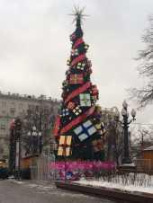 Посуточная аренда Искуственная ель 14 метров в Москве