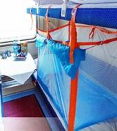 Посуточная аренда Ж/Д манеж.Для детей от 0 до 3 лет и старше в пассажирских вагонах поезда. Легко складывается, в сложенном виде помещается   в небольшую сумку в Волгограде