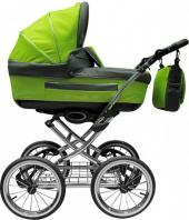 Долгосрочная аренда Детская коляска Adamex Classic.Пятиточенчные ремни безопасности;    Регулируемая по высоте ручка;    Надувные колеса с индивидуальной амортизацией;    Ножной тормоз;    Просто складывается в Тамбове