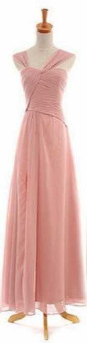Посуточная аренда Нежное платье розово-бежевого цвета.Ткани и отделка: шифон.  Размер: 42 в Томске