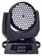 Посуточная аренда Светодиодная вращающаяся голова  LED WASH  Светодиоды: 108х3W  65000 оттенков всех цветов.  Управление по DMX с пульта в Иркутске