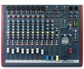 Посуточная аренда Микшерный пульт ALLEN&HEATH ZED60-14FX   • 8 микрофонных / линейных входов (3-полосный эквалайзер с полупараметрической серединой)   • 2 стерео входа (2-х полосный эквалайзер)   • 60 мм фейдеры   • USB интерфейс   • Процессор эффектов в Иркутске