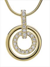 Посуточная аренда Ожерелье. Цвет металла - золотой в Екатеринбурге