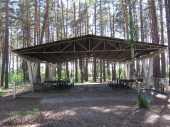Посуточная аренда Беседка №3 Вместимость 120 человек в Курске