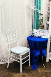 Посуточная аренда Подушка на стул Кьявари Голубого цвета в Уфе