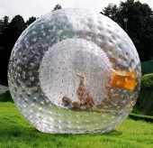 Посуточная аренда Зорб,прозрачный двухкамерный шар, изготовленный из ТПУ или ПВХ. Между внутренней и внешней камерой есть соединительное отверстие, которое позволяет находиться внутри шара в Чебоксарах
