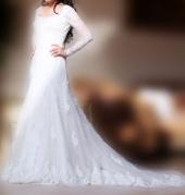 Почасовая аренда Свадебное платье фирмы San Patrick, модель-cobalto в Грозном