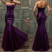 "Посуточная аренда Платье ""Purple shine"". Размер 44+,46 в Самаре"