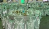 Почасовая аренда Круглые столы 1,8м, стулья в Саратове