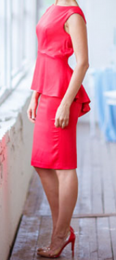 Посуточная аренда Платье Lady in red (№25) в Новгороде Великом