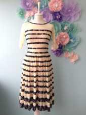 Посуточная аренда Кружевное платье длины миди.Размер 42-44 в Ижевске