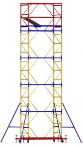 Посуточная аренда Вышка ВСП-250/1.2 .8,8 м.   7,6 м.   6,4 м.   5,2 м.   4,0 м.   2,8 м.   1,6 м.  Размеры рабочей площадки:  ширина - 1,2 м.  длина - 2,0 м.  Число настилов:   с люком - 1   без люка - 1  Нормативная поверхностная нагрузка:   250 кг в Иваново