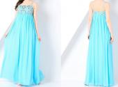 Посуточная аренда Романтичное платье небесно-голубого цвета.Размер 46-48. Залог: 1000 руб. в Горно-Алтайске
