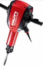 Посуточная аренда Отбойный молоток - Hilti - TE 3000-AVR. Мощность 2070 Вт   Сила удара: 68 Дж   Частота ударов под нагрузкой 860 уд/мин   Вес 29.9 кг   Номинальное напряжение 230 В в Уфе